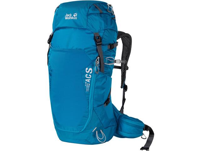 Jack Wolfskin Crosstrail 30 ST Backpack, blauw